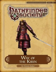 Pathfinder Society Scenario #4–21: Way of the Kirin (PFRPG) PDF