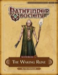 Pathfinder Society Scenario #4–26: The Waking Rune (PFRPG) PDF
