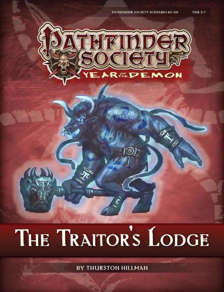 Pathfinder Society Scenario 5 09 The Traitors Lodge PFRPG PDF