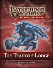 Pathfinder Society Scenario #5–09: The Traitor's Lodge (PFRPG) PDF