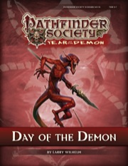 Pathfinder Society Scenario #5–14: Day of the Demon (PFRPG) PDF