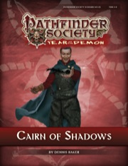 Pathfinder Society Scenario #5–23: Cairn of Shadows (PFRPG) PDF