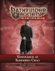 Pathfinder Society Scenario #5–25: Vengeance at Sundered Crag (PFRPG) PDF