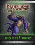 Pathfinder Society Scenario #6–00: Legacy of the Stonelords (PFRPG) PDF