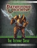 Pathfinder Society Scenario #6–03: The Technic Siege (PFRPG) PDF
