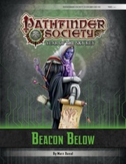 Pathfinder Society Scenario #6–04: Beacon Below (PFRPG) PDF