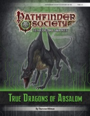Pathfinder Society Scenario #6–99: True Dragons of Absalom (PFRPG) PDF