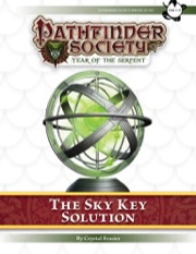 Pathfinder Society Scenario #7–00: The Sky Key Solution (PFRPG) PDF