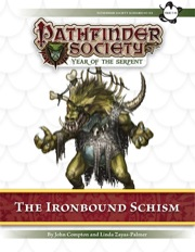 Pathfinder Society Scenario #7–04: The Ironbound Schism (PFRPG) PDF
