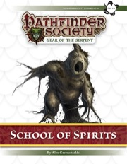 Pathfinder Society Scenario #7–05: School of Spirits (PFRPG) PDF