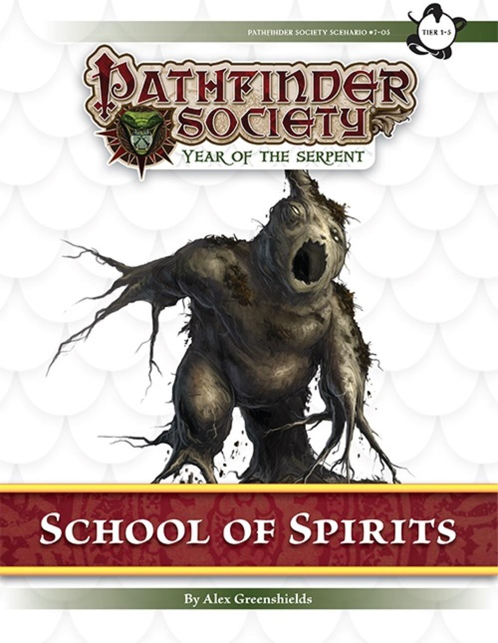 Pathfinder Society Scenario 7 05 School Of Spirits PFRPG PDF