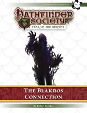 Pathfinder Society Scenario #7–09: The Blakros Connection (PFRPG) PDF