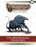 Pathfinder Society Scenario #7–15: The Deepmarket Deception (PFRPG) PDF
