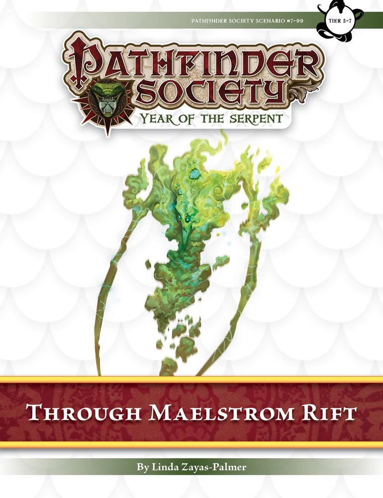 Pathfinder Society Scenario #7–99: Through Maelstrom Rift (PFRPG) PDF