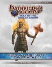 Pathfinder Society Scenario #8-11—Forged in Flame, Part 2: Cleansed With Fire (PFRPG) PDF