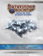 Pathfinder Society Scenario #8-24: Raid on the Cloudborne Keep (PFRPG) PDF