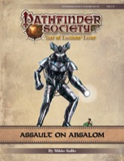 Pathfinder Society Scenario #9-00: Assault on Absalom (PFRPG) PDF