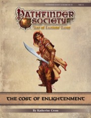 Pathfinder Society Scenario #9-01: The Cost of Enlightenment (PFRPG) PDF
