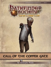 Pathfinder Society Scenario #9-05: Call of the Copper Gate PDF