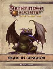 Pathfinder Society Scenario #9-10: Signs in Senghor PDF
