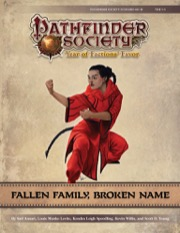 Pathfinder Society Scenario #9-16: Fallen Family, Broken Name PDF