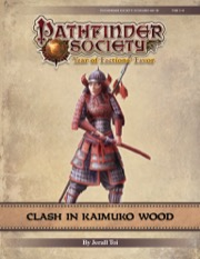 Pathfinder Society Scenario #9-19: Clash in Kaimuko Wood PDF