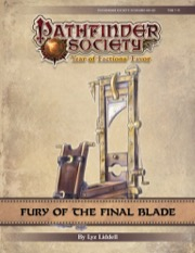 Pathfinder Society Scenario #9-20: Fury of the Final Blade PDF
