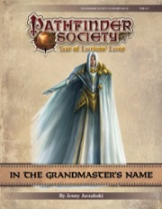 Pathfinder Society Scenario #9-21: In the Grandmaster's Name PDF