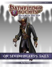 Pathfinder Society Scenario #10-17: On Sevenfingers's Sails