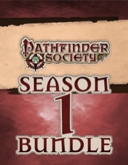Pathfinder Society Scenario—Season 1 PDF Bundle