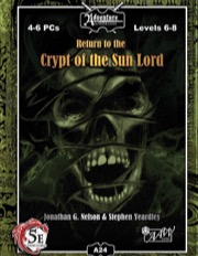 A24: Return to Crypt of the Sun Lord (5E) PDF