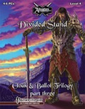 Cloak & Ballot Trilogy, Vol. 3: Divided Stand (PFRPG) PDF