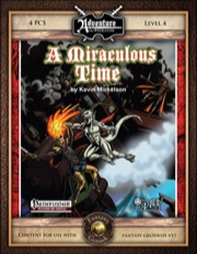 BASIC04: A Miraculous Time (PFRPG / Fantasy Grounds) Download