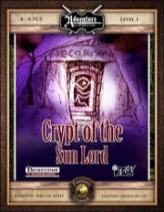 FGA01: Crypt of the Sun Lord (Fantasy Grounds) Download