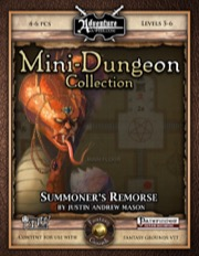Mini-Dungeon #004: Summoner's Remorse (Fantasy Grounds / PFRPG) Download