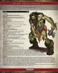 Monster of the Month #1: Basajaun (PFRPG) PDF + Fantasy Grounds