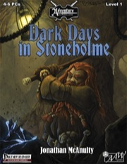 U01: Dark Days in Stoneholme (PFRPG) PDF