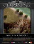 VTT Map Pack: Beaches & Docks 1 (Download)