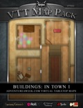 VTT Map Pack: Buildings in Town 1 (Download)