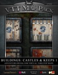 VTT Map Pack: Castles & Keeps 1 (Download)