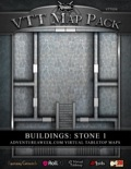 VTT Map Pack: Buildings Stone 1 (Download)