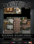VTT Map Pack: Wizard Tower (Download)