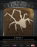 VTT Map Pack: Caves 1 (Download)