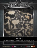 VTT Map Pack: Caves 2 (Download)