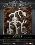VTT Map Pack: Caves 4 (Download)