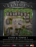 VTT Map Pack: Cities & Towns 1 (Download)