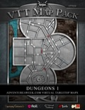 VTT Map Pack: Dungeons 1 (Download)