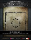 VTT Map Pack: Dungeons 3 (Download)