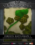 VTT Map Pack: Forests Battlemaps 1 (Download)