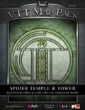 VTT Map Pack: Spider Temple & Tower (Download)
